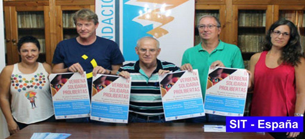 (Español) SIT-España en la IV Verbena Solidaria de la Fundación Prolibertas de Antequera (30 de septiembre)
