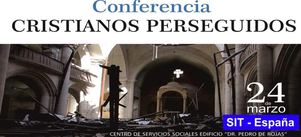 """Conferencia """"Cristianos Perseguidos"""", Antequera 24 de marzo"""