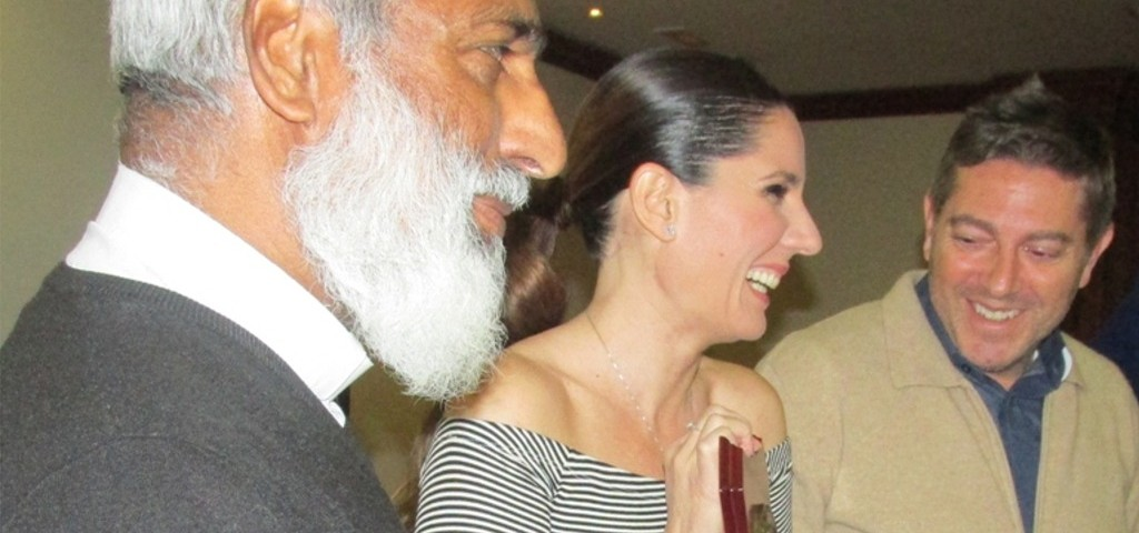 Diana Navarro premiada por Solidaridad Internacional Trinitaria - S.I.T