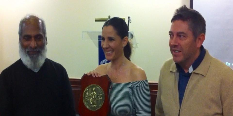 Diana Navarro y Solidaridad Internacional Trinitaria