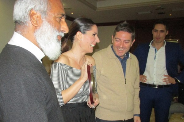 Diana Navarro premiada por Solidaridad Internacional Trinitaria – S.I.T