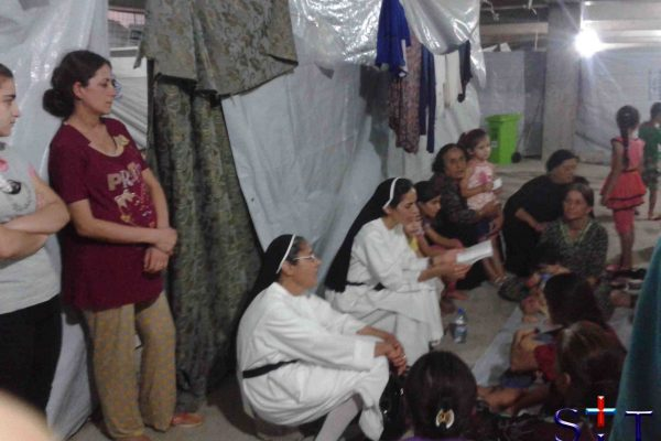Lectio divina avec les refugies
