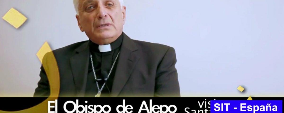 El Obispo de Alepo visita Santander - Solidaridad Internacional Trinitaria - SIT