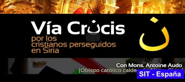Via Crucis Alepo - Solidaridad Internacional Trinitaria - SIT