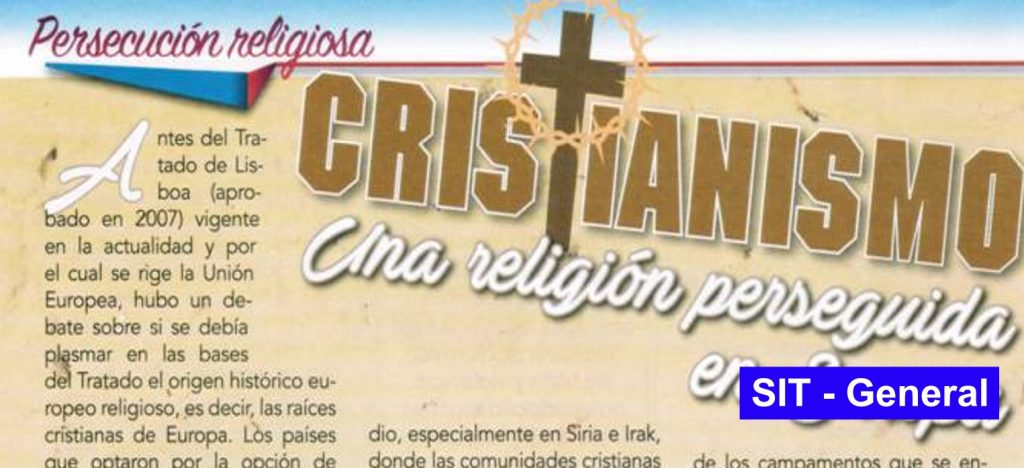 CRISTIANISMO, una religión perseguida en Europa