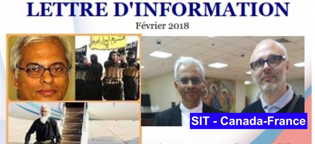 Lettre d´information février -2018 SIT Canada-France