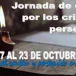 Jornada de oración por los cristianos perseguidos