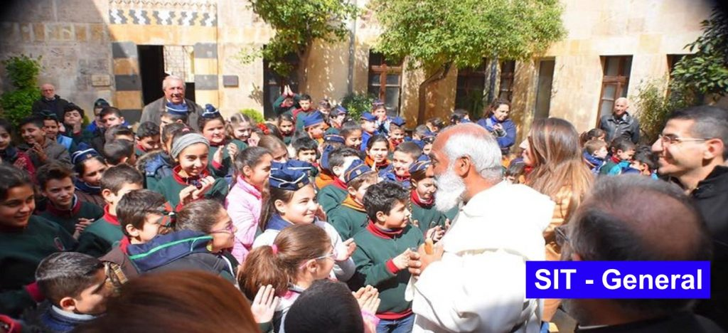 video: Father General visits the Christians of Syria