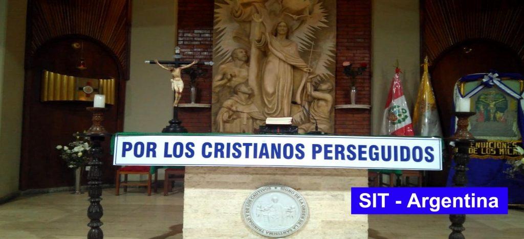 Vicariato San Simón de Rojas: Oración por los Cristianos Perseguidos.