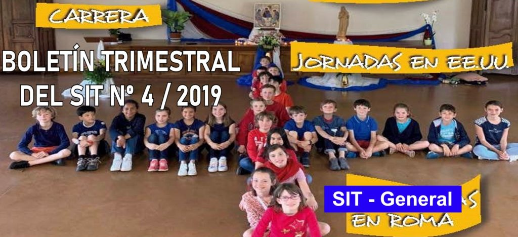 SIT Quarterly Newsletter nº 4 – 2019 (in spanish, italian and english)