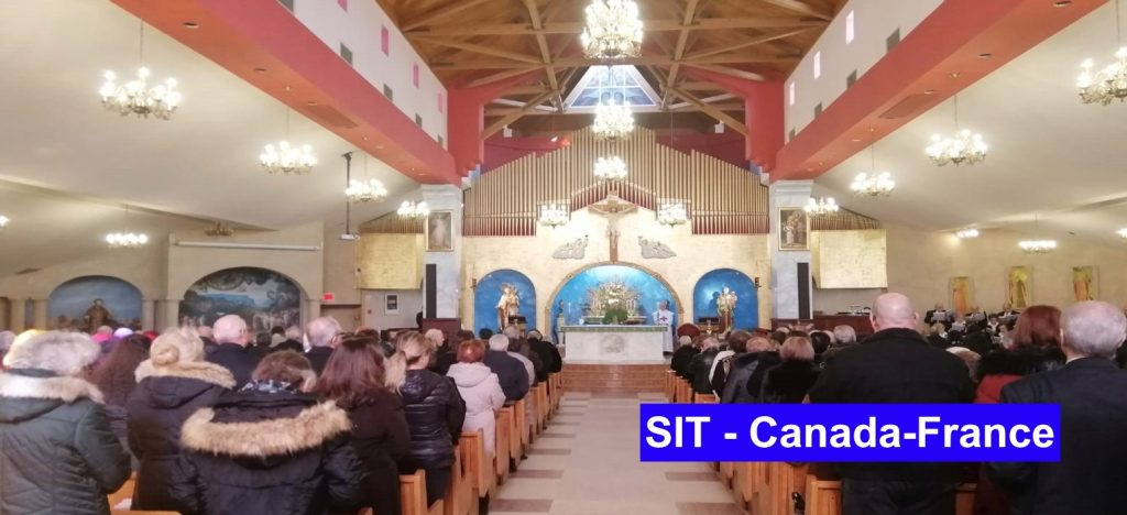 Solidarité internationale trinitaire dans la paroisse de Mont Carmel.
