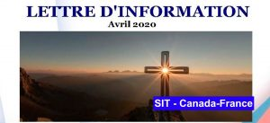 Lettre d´information avril  – 2020 SIT Canada-France