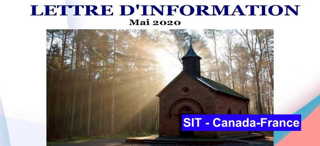 Lettre d´information mai  – 2020 SIT Canada-France