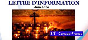 Lettre d´information juin  – 2020 SIT Canada-France