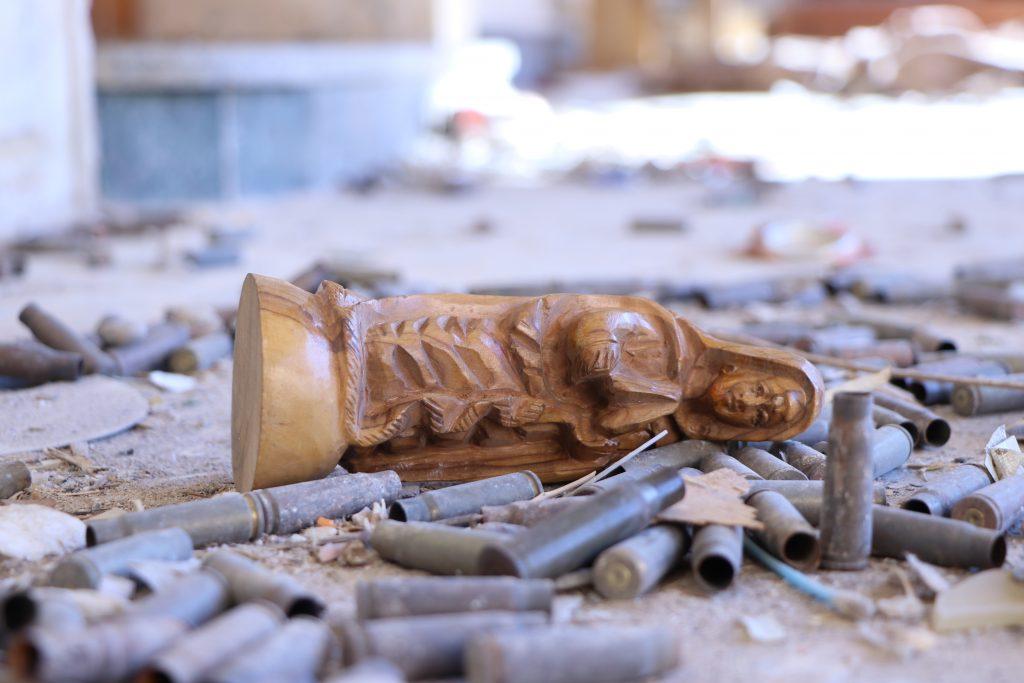 La guerra contra el terrorismo afectó enormemente a las mujeres cristianas de Irak