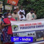 Viacrucis con el Laicado por los Cristianos Perseguidos a Kasaragod en India