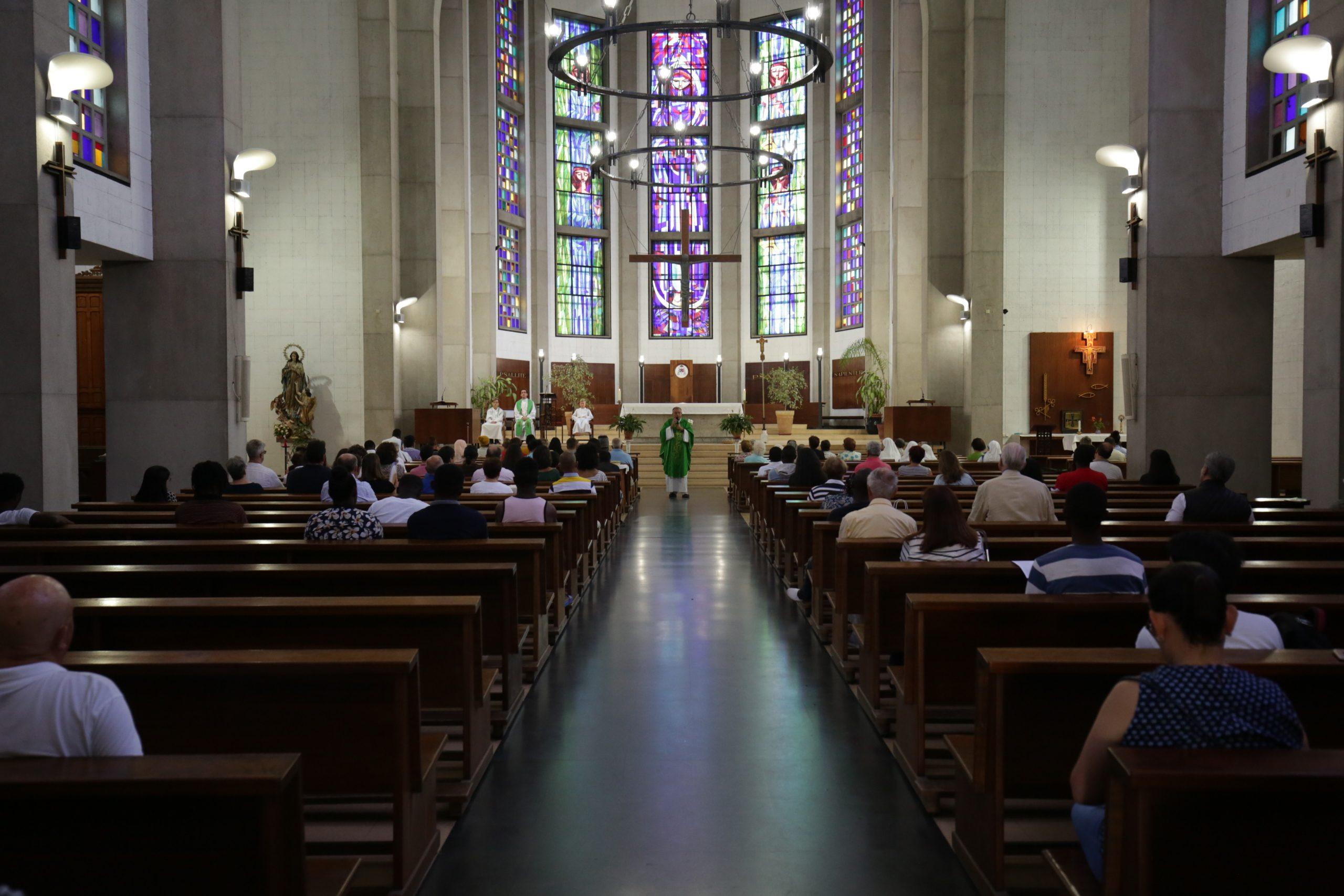 Misa en la Catedral de Tánger - Kiko Fernández