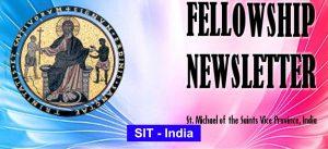 FELLOWSHIP NEWSLETTER SIT – INDIA