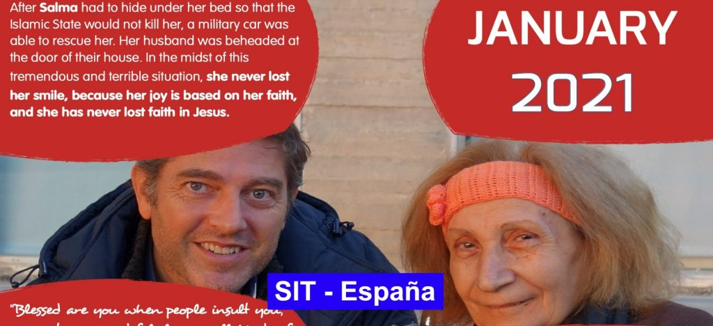 Prayer SIT-Spain – Jaunary 2021