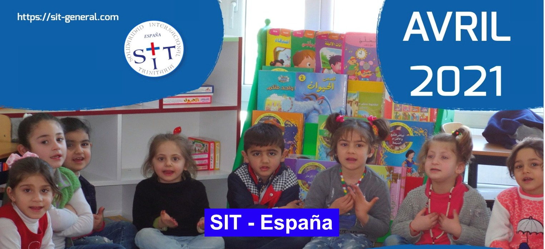Prière SIT-Espagne – Avril 2021