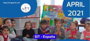 Prayer SIT-Spain – April 2021