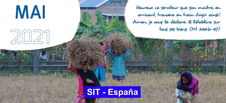 Prière SIT-Espagne – Mai 2021