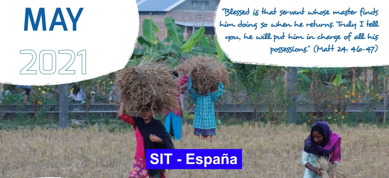 Prayer SIT-Spain – May 2021