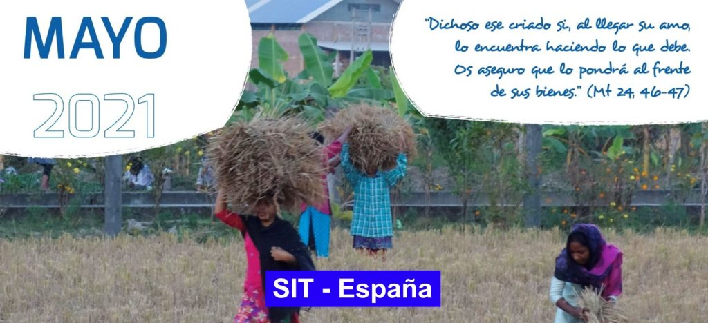 Oración SIT-España – Mayo 2021