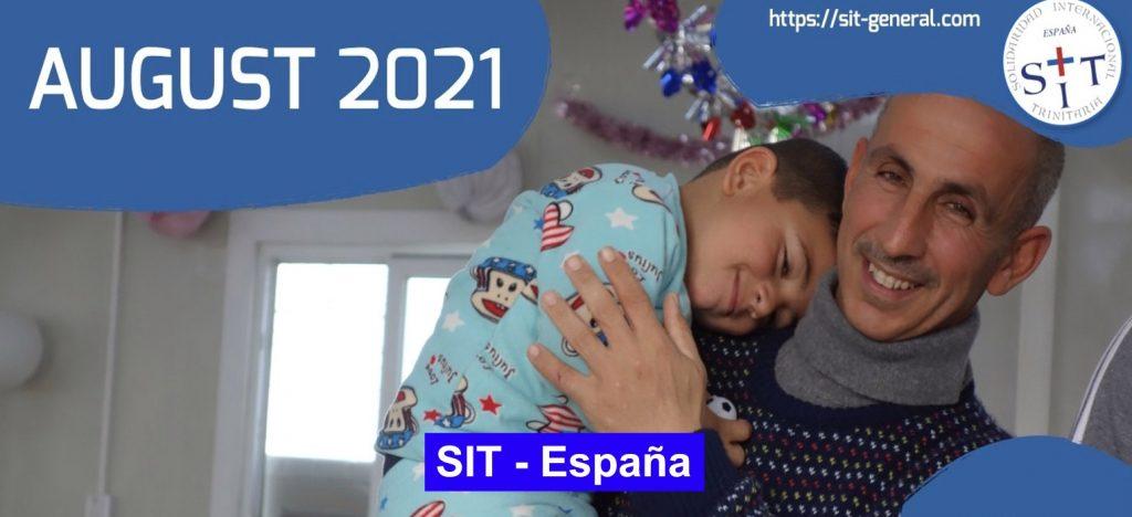 Prayer SIT-Spain – August 2021