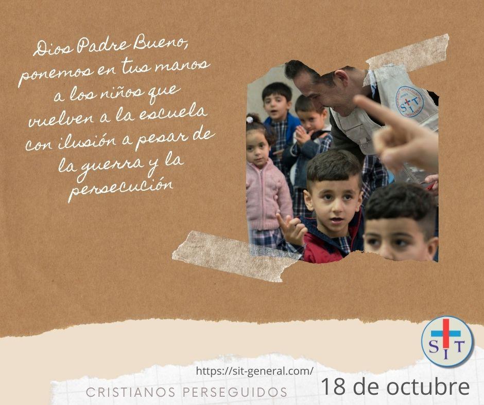 18 OCTUBRE – Semana de oración por los cristianos perseguidos 2021