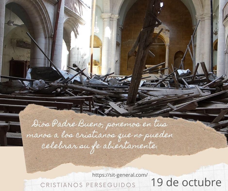 19 OCTUBRE – Semana de oración por los cristianos perseguidos 2021